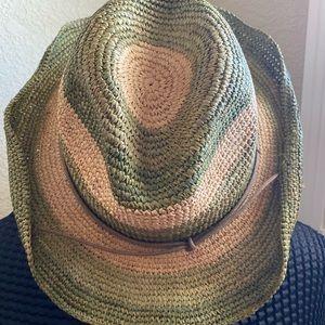 Tarnish western straw hat